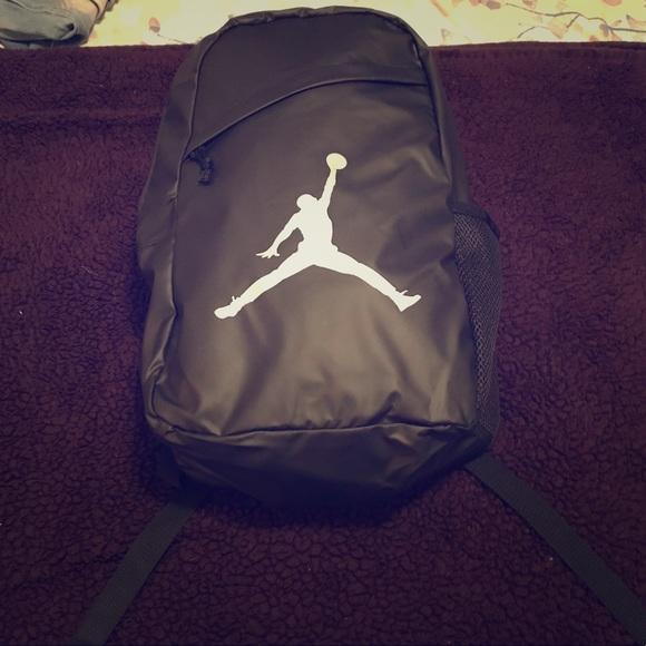 40baac63d2c9 Brand new Air Jordan black backpack